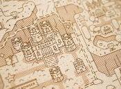 Precioso mapa Super Mario World madera