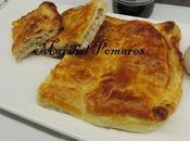Empanada hojaldre carbonara.