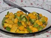 Salsa mango aguacate... para reto Color sabor temporada