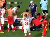 Muerte súbita Cristian Gómez, jugador Atlético Paraná argentino (video)