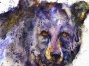 Animales, acuarela mucho color Dean Crouser