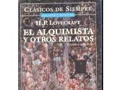 (#reseña) alquimista otros relatos, H.P. Lovercraft