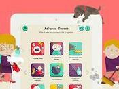 Apps incentivan niños activos colaborar casa