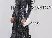 metamorfosis Herzigova Dior para Gala amFar Cannes