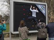 Vallas publicitarias ponen prueba estado físico
