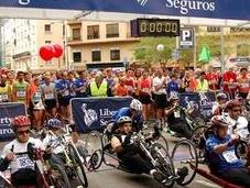 Carrera Liberty Bate nuevo récord: corredores discapacidad inscritos.