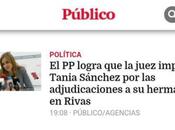Tania, imputada