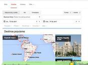 Cómo buscar vuelos Google Flights