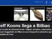 mejores titulares Jeff Koons llegada Guggenheim
