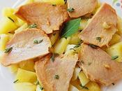 Lomo Orza patatas ajillo