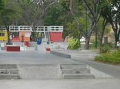 recreo lugar para practicar deporte patinetas
