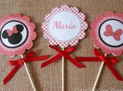 decoración personalizada Minnie Mickey Mouse