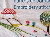 Puntos bordado: punto mosca Embroidery stitches: stitch