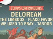 Delorean completan cartel Festival 2015