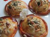"""""""raviolis"""" empanadillas horno rellenos pollo pisto"""