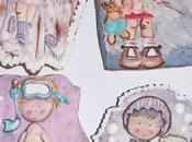 Galletas decoradas niños niñas celine bonnaud