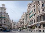 puntos turísticos dibujan Madrid. Parte