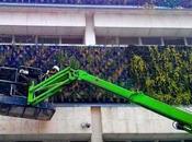 montar nosotros jardín vertical botánico Bogotá.