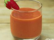 Receta gazpacho fresas