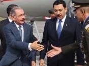 Danilo llega Guatemala para cumbre SICA.