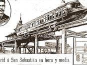 Madrid Santander hora media. 1900