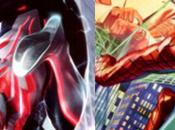 Primer vistazo nuevos trajes para Spider-Man 2099