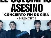 Columpio Asesino cerrará gira diciembre Madrid