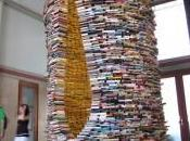 Matej Krén convierte libros impresionantes obras arte