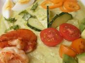 Gazpacho aguacate calabacin