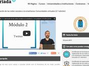 Curso Online Aplicación redes sociales enseñanza: Comunidades virtuales