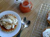 Tartaletas curd albaricoque frambuesa merengue