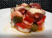 Salpicón marisco gazpacho