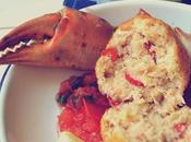 Crab balls salsa