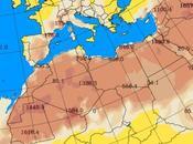 España: Intrusión polvo africano 6-julio-2015 (Pronóstico)