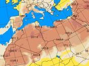 España: Intrusión polvo africano 7-julio-2015 (Pronóstico)
