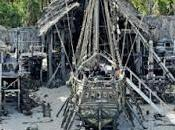 """Nuevas fotos desde rodaje """"pirates caribbean: dead tell tales"""""""