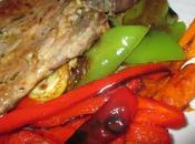 QuéComemosHoy CómoseHizo Carne Verduritas plancha