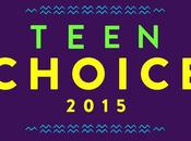 lista nominados Teen Choice Awards 2015 Categoría Musica