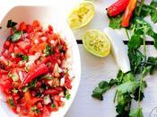 "Ensalada mexicana ""pico gallo"" receta para #concordia"
