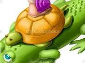 Fábula tortuga cocodrilo