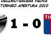 Colón:1 Estudiantes Plata:0 (13° Fecha)