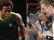 Masters 1000 París: Monfils sorprendió Federer definirá Soderling