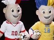 gemelos colores Polonia Ucrania serán mascotas Eurocopa 2012