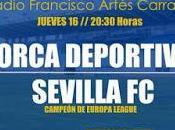 Primera puesta escena nuevo Sevilla 15/16 ante Lorca Deportiva