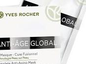 Nueva Mascarilla facial Anti-Age Global Yves Rocher