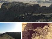 Restos kasbah montañas Tidri. Valle Draa (Marruecos)