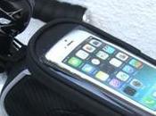 Bolso Ride Small Phone Frame Bag, eficiente sistema transportación para disponer móvil altura tubo superior