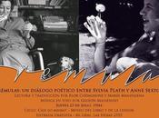 Eventos Trémulas, diálogo poético entre Sylvia Plath Anne Sexton