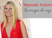 Gwyneth Paltrow Valentino presentan: mujer rojo