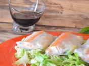 Rollitos obleas arroz salsa soja